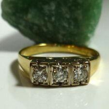 Gut geschliffener Echtschmuck mit Rahmengröße 53 (16,8 mm Ø) Diamant