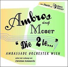 "Wolfgang Ambros canta Moser ""LA 2 te..."" CD NUOVO/Singer-CANTAUTORI"