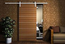 6 Feet Antique Sliding Barn Door Hardware Set Kit Wood Doors Stainless Steel Set