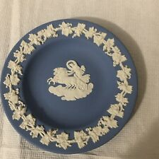 Mini Wedgewood Pale Blue Collectors Plate