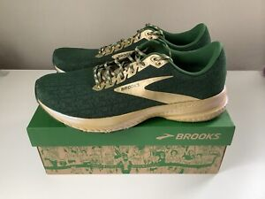 NEW Brooks Launch 7 Shamrocks St Patrick's Day LE Men's Running Shoes - Sz 11