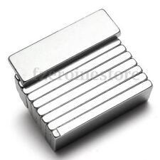 5 Piezas N52 Imanes De Neodimio Fuertes 25 x 8 x 2 mm Coche Puertas Refrigerador
