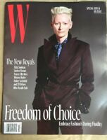 W MAGAZINE OCTOBER 2017 FREEDOM OF CHOICE -SPECIAL HIS&HER ISSUE NEW&UNREAD
