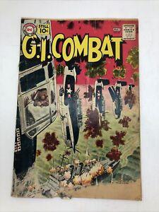 G.I. COMBAT #87 (DC 1961) rough shape RARE!