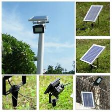 15W 120LED Solar Powered Panel Floodlight Night Sensor Outdoor Garden Lamp