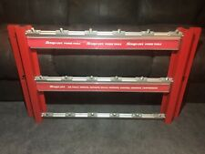Snap On Tools - Pneumatic Air Tool Storage Display Rack - Rare - Used