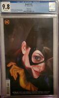 Batgirl #25 Joshua Middleton Variant Cover CGC 9.8