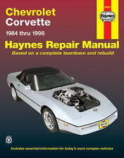 Repair Manual fits 1984-1996 Chevrolet Corvette  HAYNES