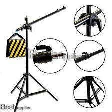 Photography Studio Softbox Boom Arm Lighting Kit Light Stand Sandbag Telescoping
