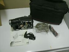 JVC Model GR-AX8410 Compact VHS Camcorder For Repair/Parts with Bag/cords etc