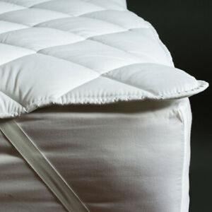 Caravan Quilted Mattress Topper Right, Left Cut Off & Island Bed
