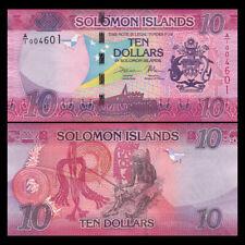 Salomonen / Solomon Islands 10 Dollars, 2017, P-33 NEW, UNC
