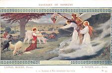 R061486 Basilique de Domremy. Jeanne d Arc Ecoutant les Voix. Lionel Royer. A. N