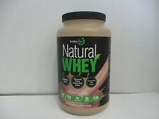 Bodylogix NATURAL WHEY PROTEIN POWDER 24g CHOCOLATE 1.85lbs EXP 4/18 DE 1858