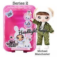 Series 2 Na Na Na Surprise MICHAEL MANCHESTER 2 IN 1 Fashion Doll Pom Purse NEW