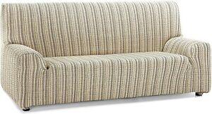 Martina Home Mejico Stretch Sofa Cover 4 Seats Beige 240-270cm New - Opened