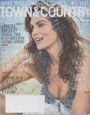 TOWN AND COUNTRY MAGAZINE MAY 2018 -CINDY CRAWFORD-HOW TO BE A MODERN MATRIARCH