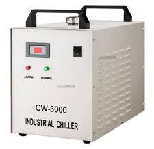 Refrigeratore d'acqua CW-3000 INDUSTRIALE CON CO2 Laser Tube 60W/80W/100W AC110V