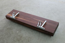 Wandboard Nussbaum Massiv Holz Board Regal Steckboard Regalbrett NEU