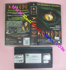VHS film KOMODO 1999 Michael Lantieri Hennessy Burke CVC R05C2057 (F146) no dvd