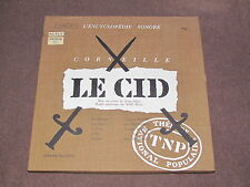 LE CID 2-LP BOX SET VINYL RECORDS Pierre Corneille Gerard Philipe Deschamps EL