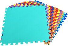 Schutzmatte 12 Stück Bodenschutzmatte je 60x60x1cm Spielmatte Eva Fitnessmatte