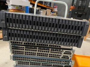 24 x 400GB SSD SAS HDD DS2246 NAJ-1001 2 x IOM6 CONTROLLERS 2 x P/SUPPLY