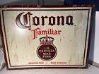 Corona Familiar Beer Tin Sign 18x24