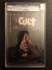Batman The Cult 3 CGC 9.6 White Pages Jim Starlin Bernie Wrightson October 1988