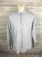 Men's Ted Baker Shirt - Size 4 Large - Grey - Great Condition