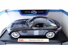 Nuevo 1:18 Maisto Coche Modelo Diecast Edición Especial-Mercedes AMG GT en Gris Oscuro