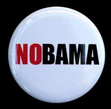 "NOBAMA - Button Pinback Badge 1.5"" Anti Obama Political"