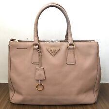 Pre Owned Authentic Prada Large Saffiano Lux Handbag / Shoulder Bag Check photos