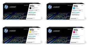 HP 212X  W2120X BRAND NEW GENUINE ORIGINAL-BCYM -FREE SHIP- ( 6-SETS OF 4 )