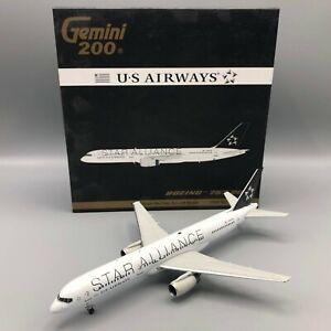 Gemini Jets US Airways Star Alliance Boeing 757-200 G2USA098 N935UW 1:200