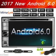 "Tocado Double 2 Din 6.2"" Android 6.0 Car Stereo GPS Navi Radio Bluetooth WiFi 3G"