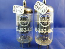 Matched pair e283cc/ecc803s Valvo # NOS # balanced Systems (9011)