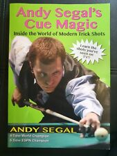 Andy Segal's Cue Magic Book. Inside The World Of Modern Trick Shots NEW