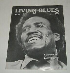 Spring 1982 LIVING BLUES MAGAZINE #52 JOHNNY COPELAND BIG WALTER HORTON KENTUCKY