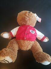 "One Direction Lg 20"" 1D Two Tone Teddy Bear Plush Stuffed Animal Varsity Jacket"