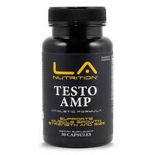 TESTO AMP MUSCLE BUILDING BODYBUILDING STACK TESTOSTERONE BOOSTER W/ DEER ANTLER