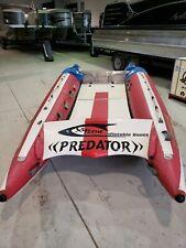 Xtreme Predator Inflatable Racing Boat 13' Used
