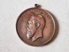Médaille déco honneur militariat LEOPOLD II EXPOSITION UNIVERSELLE ANVERS Medal