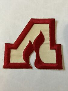 "Vintage Retro NHL Hockey Atlanta Flames Jersey Patch Crest Logo 5"""