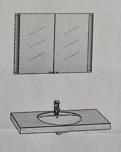 Keuco Unterputz-Spiegelschrank mit LED-Beleuchtung