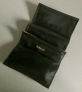 Dr. Plumb's Soft Leather Pipe Smokers Foldover Pipe Tobacco Pouch ~ unused.