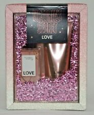 Victoria`s Secret LOVE Fragrance Lotion & Scented Body Mist GIFT SET 2p NEW