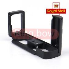 Metal Hand Grip Vertical L Plate Bracket For FUJIFILM Fuji X-M1 X-A2 UK Stock