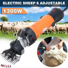 1300w Electric Sheep Goat Animal Clipper Shave Groomer Shears Shearing Machine
