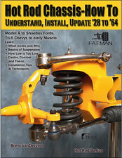 Hot Rod Chassis-How To: Understand, Install, Update '28 to '64 Book~NEW! scta